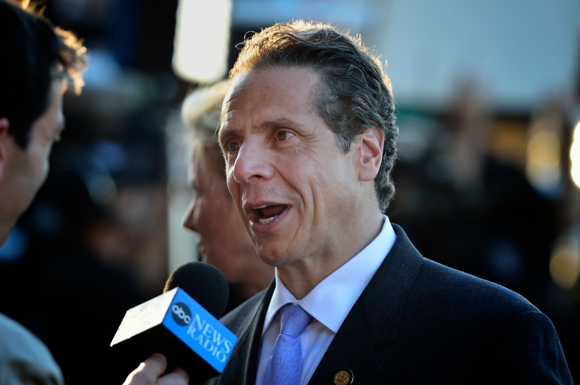 Governor Andrew Cuomo at Belmont Stakes